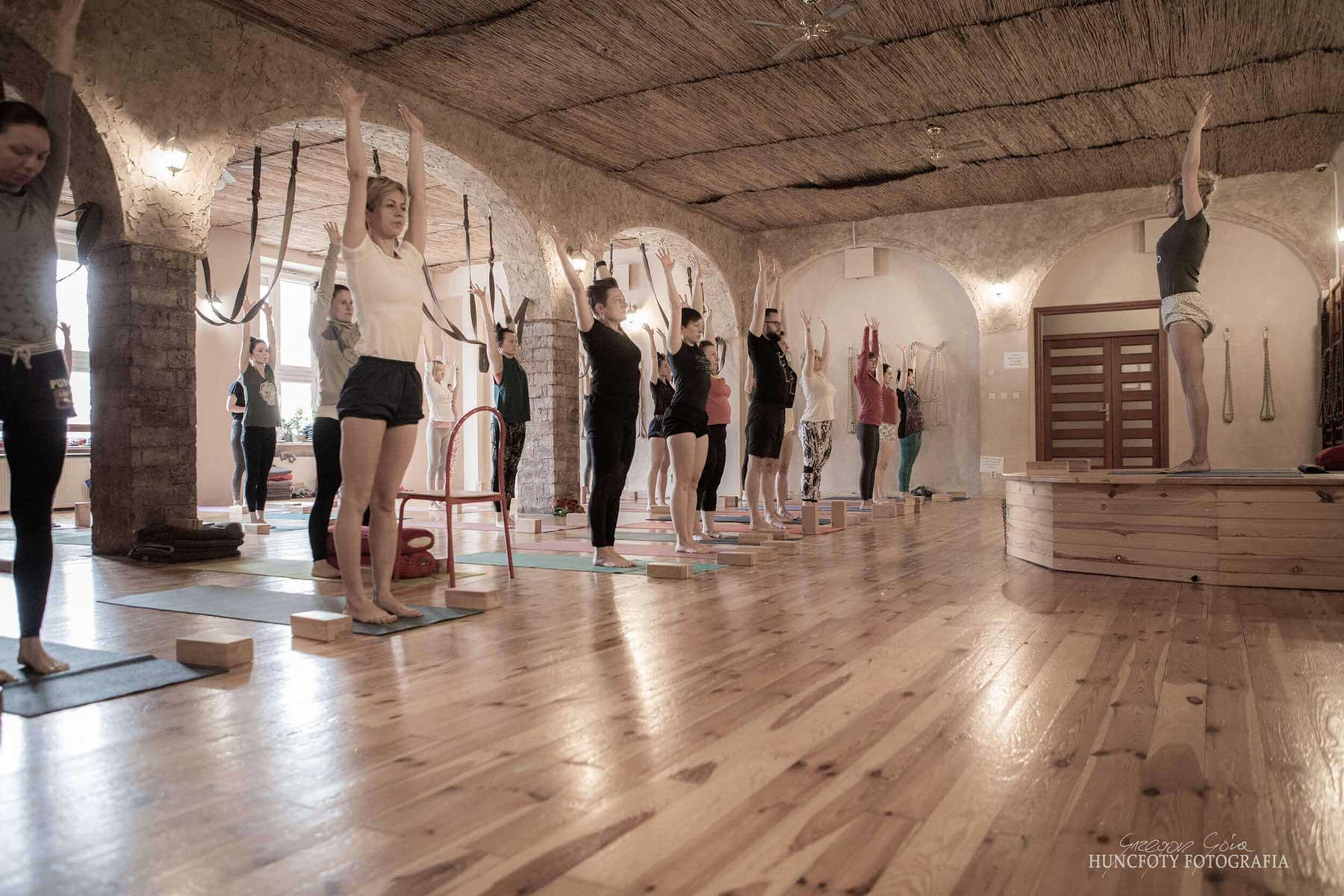 Joga w Namaste - zajęcia grupowe