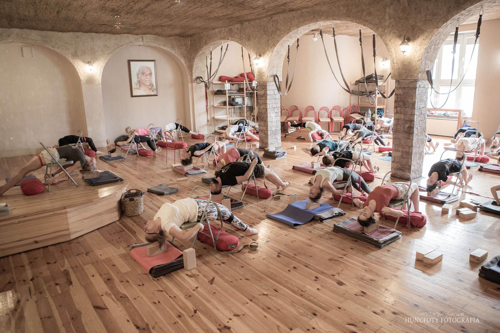 Zajecia jogi - grupa Grupa zaawansowana